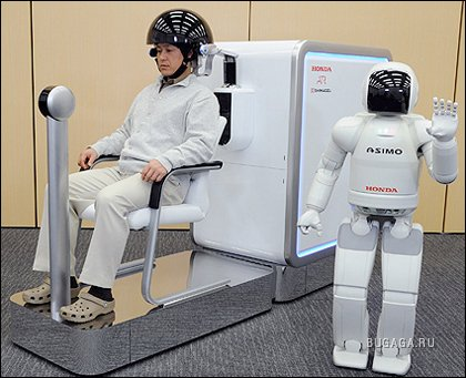 Honda научила робота Asimo понимать человеческие мысли