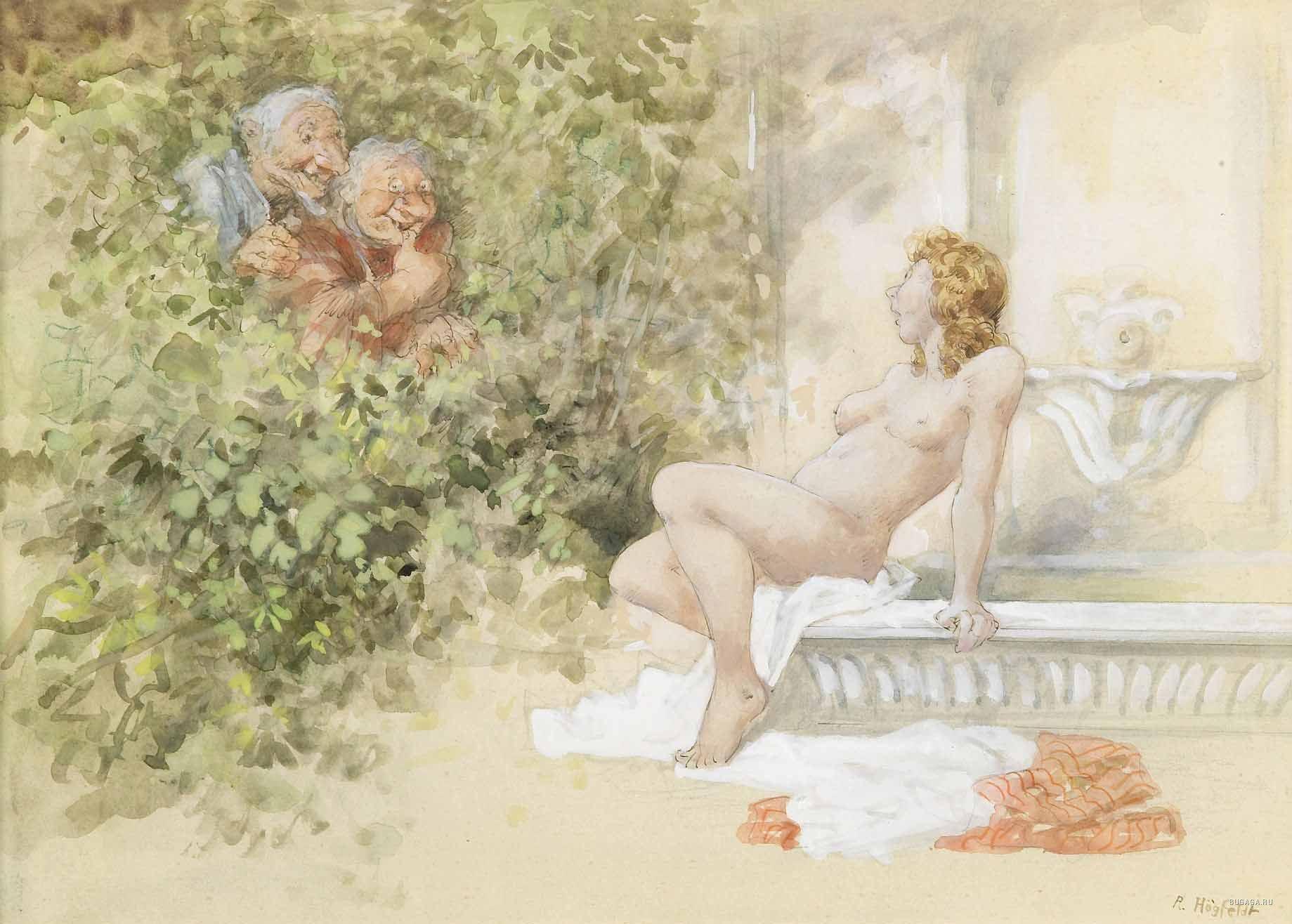 Сексуальные образы в иллюстрации художников 26 фотография