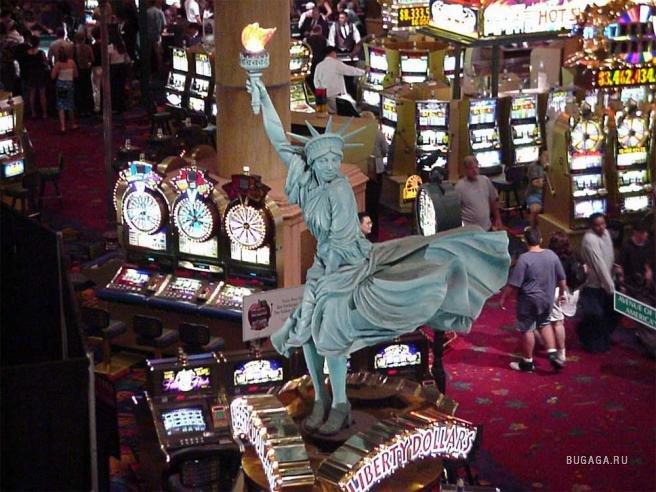 скачках казино