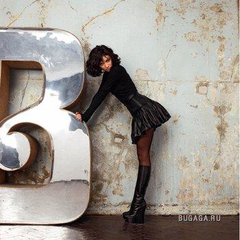 Ольга Куриленко в журнале ELLE, 8 фото