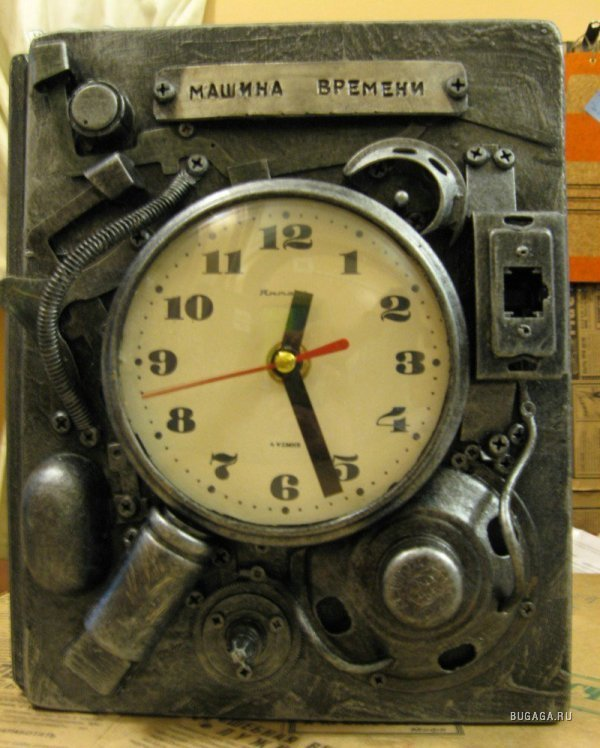 Как сделать машину времени своими руками 4