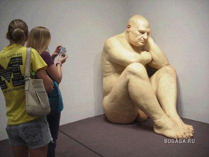 Работы скульптора-гиперреалиста Рона Мьюека