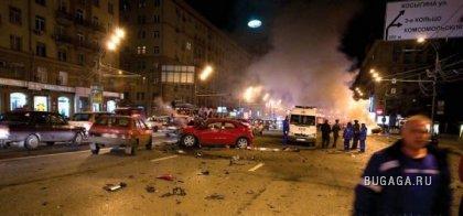 В Москве разбился еще один Lamborghini
