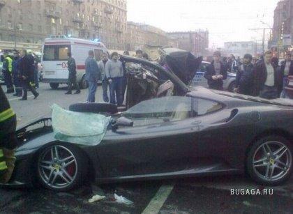 В Москве снова бьются суперкары!