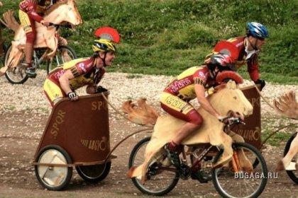 Современные колесницы