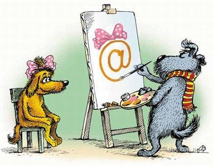 Из истории почтовой собачки.