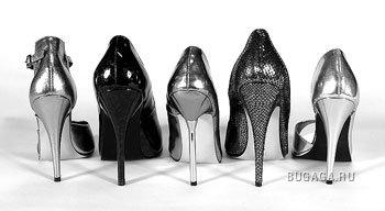 Туфли на шпильках.