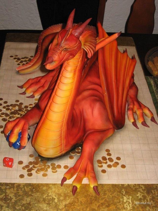 Как сделать дракона девушке