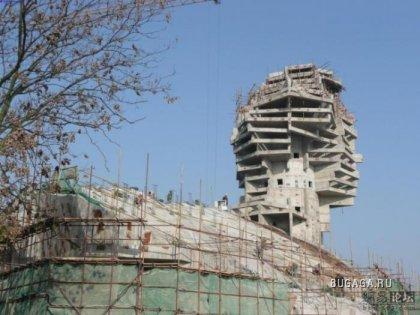 В Китае строят своего Сфинкса