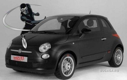 Fiat 500 Diabolika от StudioTorino