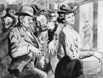 Как защищались женщины от мужчин в 1901 году