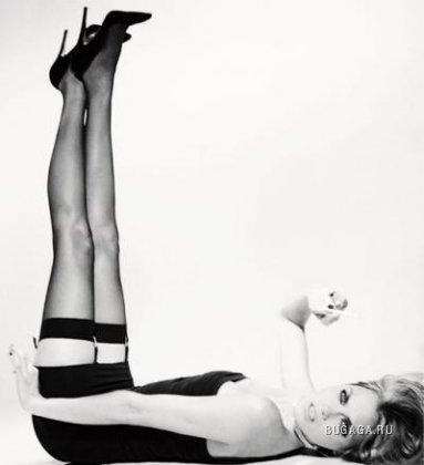 Девочки, ножки, чулки