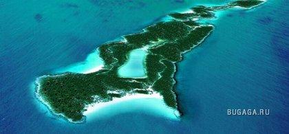 Личные острова знаменитостей