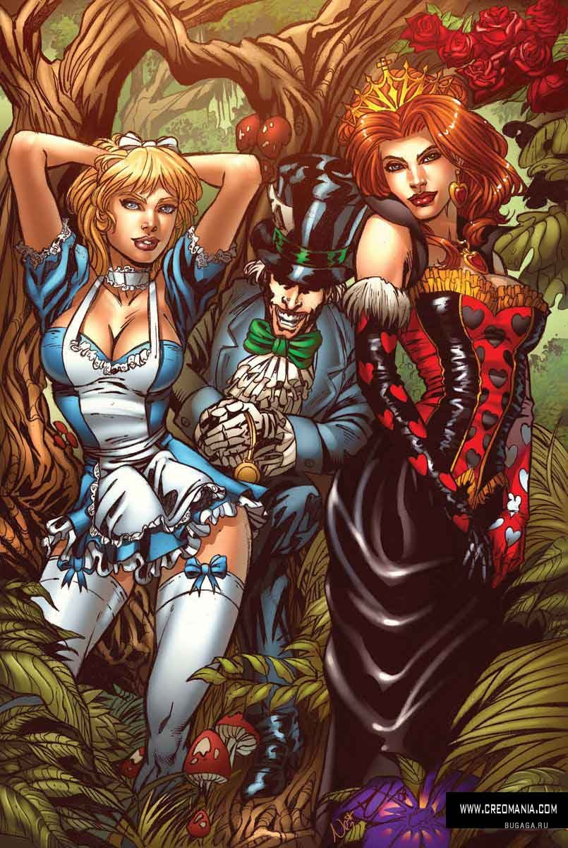 Download 480x800 Tales from Wonderland - Erotic Graphics & Comics