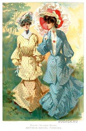 Женская мода 1904 года