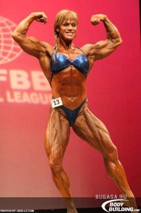 Женский турнир по бодибилдингу IFBB 2009