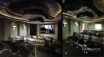 Необычные домашние кинотеатры