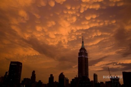 Небо Нью Йорка
