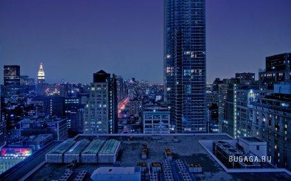 Ночные города (21 фото)
