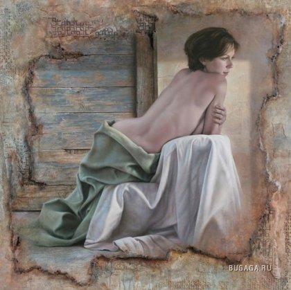 Женщины художника Pascal Chove