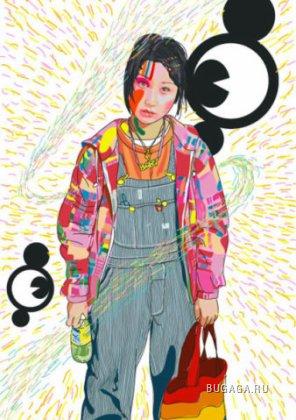 Яркие люди от Yukio Kuwajima