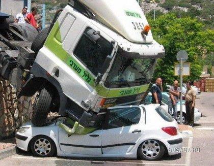 Происшествия и курьезы автомобильного мира