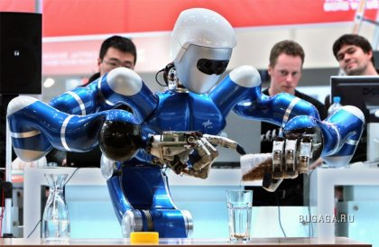 Роботы на службе человеку