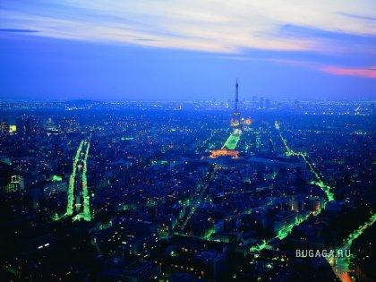 Ночные огни городов
