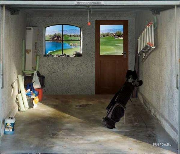 Окно в гараже своими руками