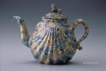 Коллекция чайников (1650-1800)