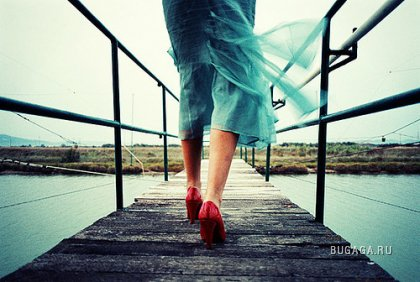 Похождение красных туфель
