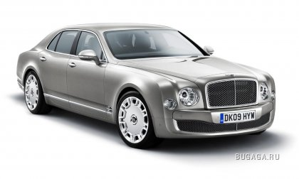 Новый флагман Bentley - Mulsanne