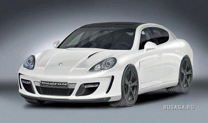 Новый утюненный Porsche Panamera Gemballa Mistrale