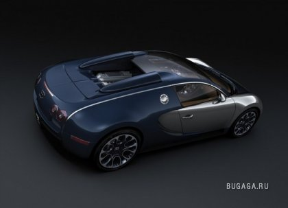 Суперкар Bugatti Grand Sport Sang Bleu