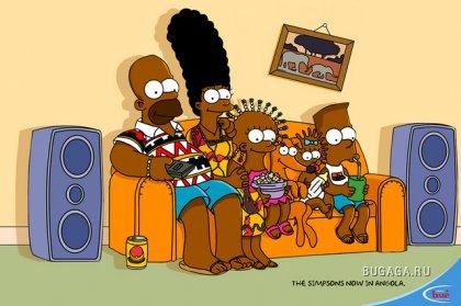 Симпсоны добрались до Анголы