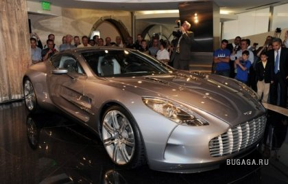 Aston Martin One-77 на Galpin Motors