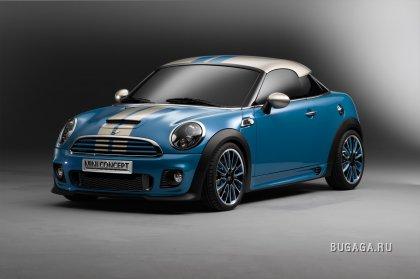 """Mini отпразднует 50-летний юбилей моделью с кузовом """"Coupe"""""""