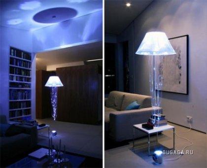 Летающие медузы-лампы