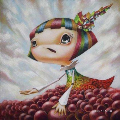 Работы художника Yosuke Ueno