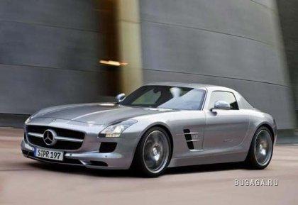 Mercedes рассекретил новый спорт-кар