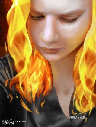 Огонь повсюду...