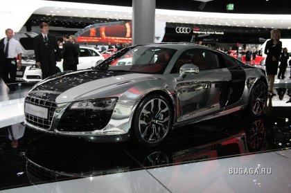 Хромированный Audi R8