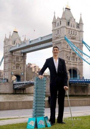 Новый самый высокий человек в мире
