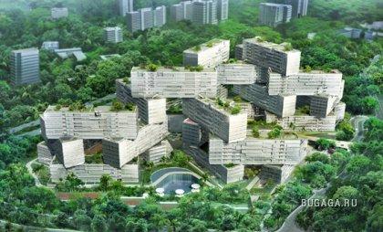 Новый жилой комплекс в Сингапуре