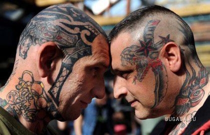 Международный фестиваль татуировки в Лондоне