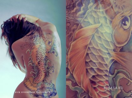 Древнейшее искусство – татуировка