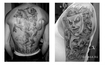 Гангстерский татуировки - Все о татуировках.