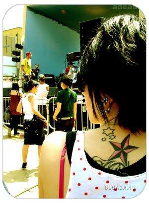 .Красивые девушки+красивые татуировки)