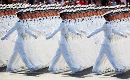 Празднование юбилея в Китае (мега парад)