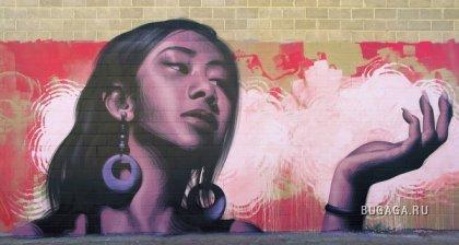 Потрясающие граффити от El Mac